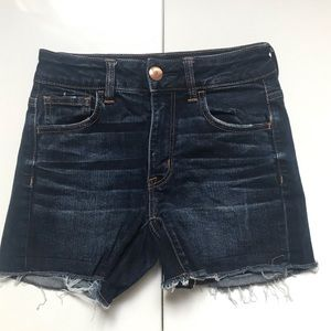 American Eagle Outfitters High Rise Shortie Size 0